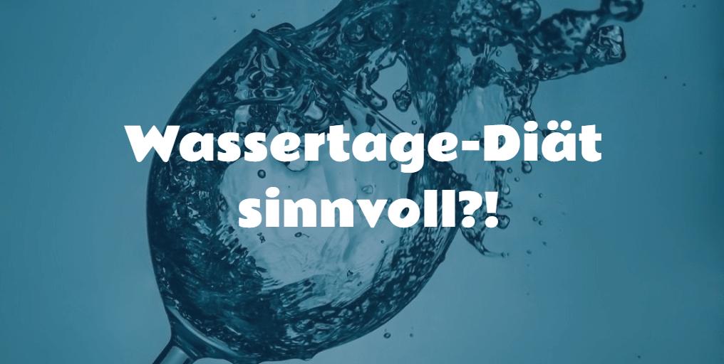 wassertage-diaet-sinnvoll